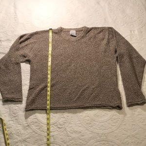 Women's Columbia crop sweater size L